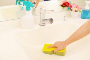 身近なもので簡単に!今日からできる洗面台の掃除方法
